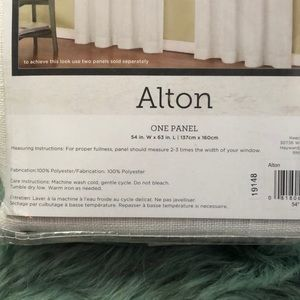 "alton Accents - Lot of 3 Alton white 63"" panels NWT"